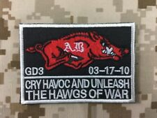 """Warrior Navy Seals """"The Hawgs of War"""" Patch WR-PT06"""