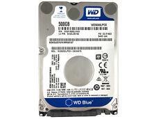 """WD Blue (WD5000LPCX) 500GB 16MB 5400RPM SATA 6Gb/s 2.5"""" 7mm Hard Drive"""