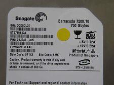 750 GB Seagate Barracuda ST3750640A / 9BJ048-305 / 3.AAE / AMK / Hard Disk Drive
