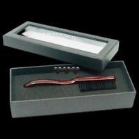 Barber Skin Fade Brush Bristle Hair Beard Wooden Handle Men Grooming Wahl Style