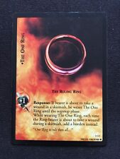 LOTR TCG CCG Foil The One Ring, The Ruling Ring 1C2, Played Condition
