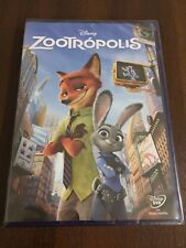 ZOOTROPOLIS - DVD - 104 MIN - DISNEY - NEW SEALED - NUEVO EMBALADO - OSCARIZADA