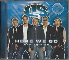 US5 / HERE WE GO - NEW EDITION  * NEW & SEALED CD * NEU *