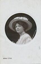 POSTCARD  ACTRESSES   Marie  Lohr