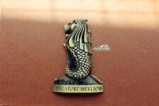Singapore Merlion Tourist Travel Souvenir 3D Metall Fridge Magnet Craft GIFT