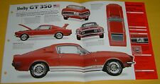 1968 Ford Mustang Shelby GT 350 Fastback 302 ci 335 hp S/C Info/Specs/photo 15x9