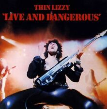 THIN LIZZY live and dangerous (CD album) hard rock, classic rock