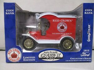 Gearbox 1912 Red Crown Ford Truck Bank 1/24