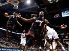 LeBron James Dwyane Wade Alley-oop NBA Gigantic HD Photo Print Poster Multisizes