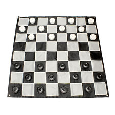Get Out!™ | Giant Checkers Set – Large Checkers Pieces and Giant Checker Board