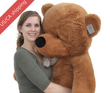 "Joyfay® 63"" 160cm Dark Brown Giant Teddy Bear Huge Toy Birthday Gift"