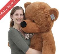 "Joyfay® 63"" 160cm Dark Brown Giant Teddy Bear Huge Toy Birthday Gift"