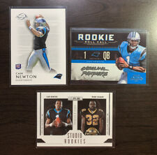 2011 Topps Legends Cam Newton RC + Contenders Rookie Roll Call + Studio Rookies