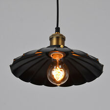Sale Retro Vintage Industrial Pendant Ceiling Chandeliers Light Lamp With Bulb