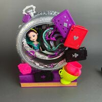 Ever After High Raven Queen Way Too Wonderland Playset Set & Doll Complete