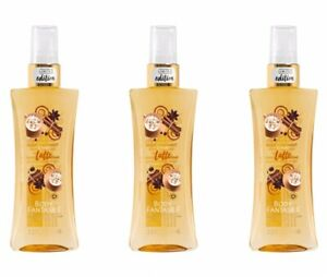 3~Chai Latte Body Fantasies 3.2oz Limited Edition Fragrance Mist Body Spray NEW