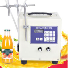 Liquid Filling Machine Microcomputer Manual/Automatic 2 head stainless steel 60W
