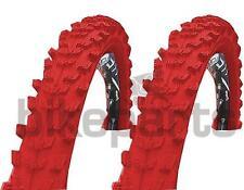2 Stück Fahrradreifen Kenda MTB Reifen 26x1,95 (50-559) Rot