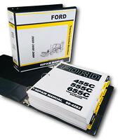 FORD 455C 555C 655C TRACTOR LOADER BACKHOE SERVICE REPAIR MANUAL