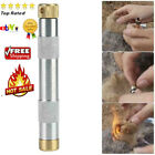 Metal Fire Making Tool Piston Fire Starting for Outdoor Camping Exploring Gear