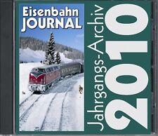 Jahrgangsarchiv 2012 Eisenbahn Journal CD