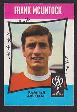 A&BC - Footballers (Star Players) 1967 - # 48 Frank McLintock - Arsenal