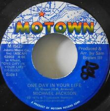 "MICHAEL JACKSON - One Day In Your Life - 7"" Single US PRESS"