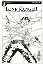 LONE RANGER #1-3 JOHN CASSADAY B & W SKETCH INCENTIVE VARIANT COVER SET - 1/10