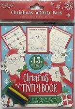Christmas Activity Book Childrens XMAS Stocking Fillers Gifts