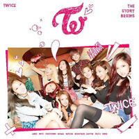 TWICE-[THE STORY BEGINS] 1st Mini Album CD+36p Photo Booklet+Card K-POP Sealed