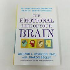 Emotional Life of Your Brain by Richard Davidson, Begley (Signed, 2012, HC, DJ)