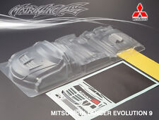 PC Bodykit for 1/10 MITSUBISHI LANCER EVOLUTION 9 RC Car
