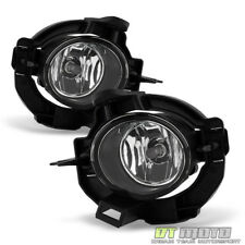 For 2008-2013 Rogue Glass Bumper Fog Lights Lamps w/Switch+Bulb+Cover Left+Right