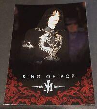 MICHAEL JACKSON 2011 Panini PLATINUM Parallel SP #24 The King Of Pop VERY RARE