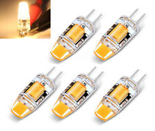 5x G4 LED COB Dimmbar 3W Energiespar Lampe 360° Warmweiß AC DC 12V Deutsche Post