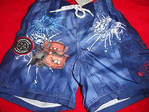 XXS 2-3 YEARS Tow Mater Blue Disney Store Swim Suit NWT