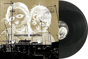 PAGENINETYNINE & MAJORITY RULE Split LP vinyl pg.99 screamo orchid touche amore