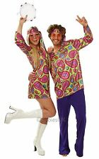 Rubies Adult Man 70s Hippie Guy Fancy Dress Costume