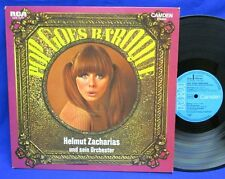 LP HELMUT ZACHARIAS - POP GOES BAROQUE // GERMAN RCA CAMDEN