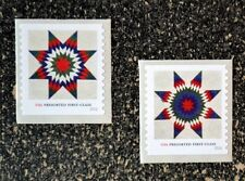 2016USA #5098-5099 25c Star Quilts Presorted First Class - Set of 2 Coil Singles