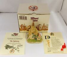 Lilliput Lane Figurine The Spinney With Deed & Certificate Of Authenticity