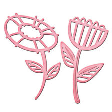 Spellbinders in 'spire Flower Power 2 Die Set-IN-021 - Cut gaufrer Stencil