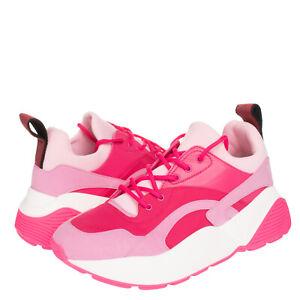 RRP €520 STELLA MCCARTNEY Sneakers EU 40 UK 7 US 10 Branded Strap Chunky Sole