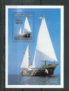 Navires Madagascar Feuille 268 (MNH)