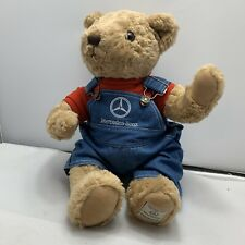 Mercedes-Benz Herrington Bears- Overalls Red Shirt- Plush Teddy Bear