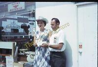 Phillips 66 Gas Station Win Check Winner Woman 1960s 35mm Slide Flying A Battery