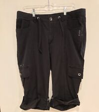 Harley Davidson Motorcycle Roll Up Pants Womens Size 16