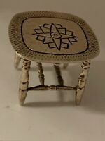 Very Pretty Solid Silver Dolls House Miniature Sterling Silver Table