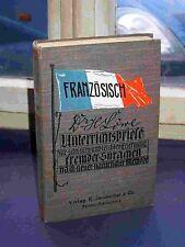 DR. H. leone's insegnamento lettere francese, da 1897