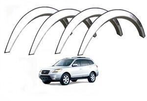 Hyundai Santa Fe Chrom 06-12 Radlauf Zierleisten Vorne Hinten Styling Kit